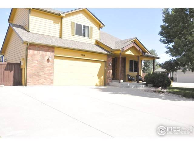 2318 72nd Ave Ct, Greeley, CO 80634 (MLS #898768) :: J2 Real Estate Group at Remax Alliance