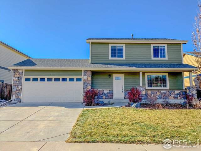 444 Frontier Ln, Johnstown, CO 80534 (#898971) :: The Brokerage Group