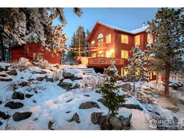 3778 Ridge Rd, Nederland, CO 80466 (MLS #899600) :: Tracy's Team