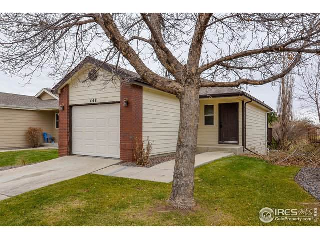 447 Lilac Ave, Eaton, CO 80615 (#899621) :: The Griffith Home Team