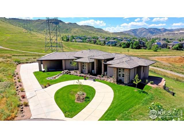 18786 W 56th Dr, Golden, CO 80403 (#899686) :: The Peak Properties Group