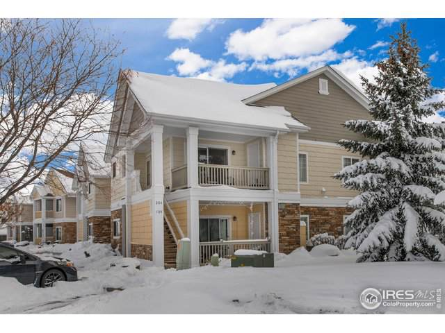 4745 Hahns Peak Dr #204, Loveland, CO 80538 (MLS #899707) :: June's Team