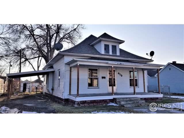 419 Oak St, Sterling, CO 80751 (MLS #900052) :: Bliss Realty Group
