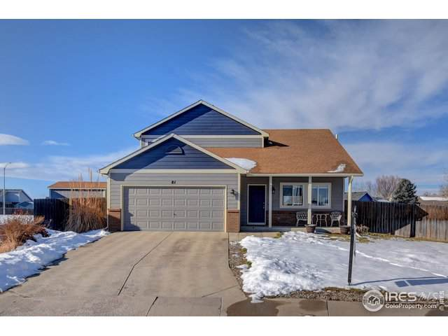 81 Mountain Ash Ct, Milliken, CO 80543 (MLS #900135) :: Colorado Home Finder Realty
