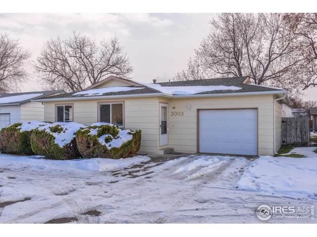 2003 Wedgewood Ct, Greeley, CO 80631 (MLS #900150) :: 8z Real Estate