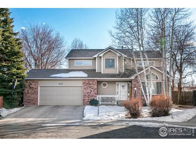 1024 W 44th St, Loveland, CO 80538 (#901583) :: The Peak Properties Group