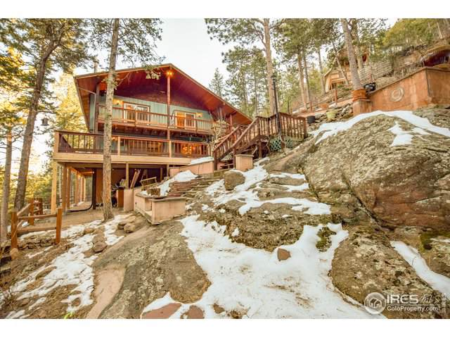97 Lookout Dr, Lyons, CO 80540 (MLS #901621) :: Colorado Home Finder Realty