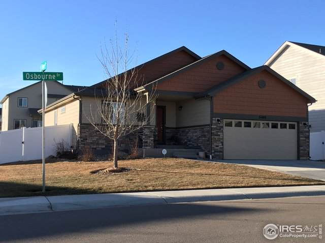 5408 Osbourne Dr, Windsor, CO 80550 (MLS #902111) :: Colorado Real Estate : The Space Agency