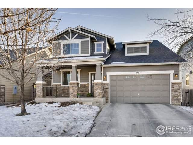 927 Burrowing Owl Dr, Fort Collins, CO 80525 (#902200) :: The Peak Properties Group