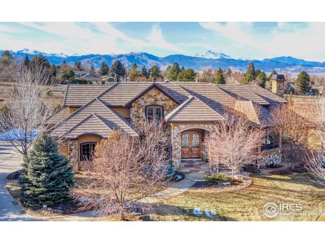 6745 Niwot Hills Dr, Niwot, CO 80503 (#902364) :: The Dixon Group