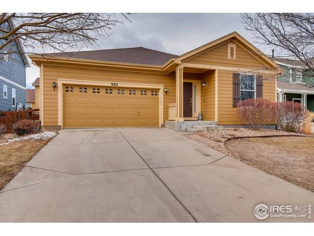 920 Eichhorn Dr, Erie, CO 80516 (MLS #902445) :: Colorado Real Estate : The Space Agency