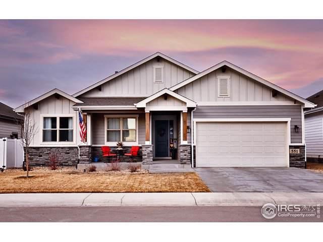 551 Vermilion Peak Dr, Windsor, CO 80550 (MLS #903242) :: Kittle Real Estate