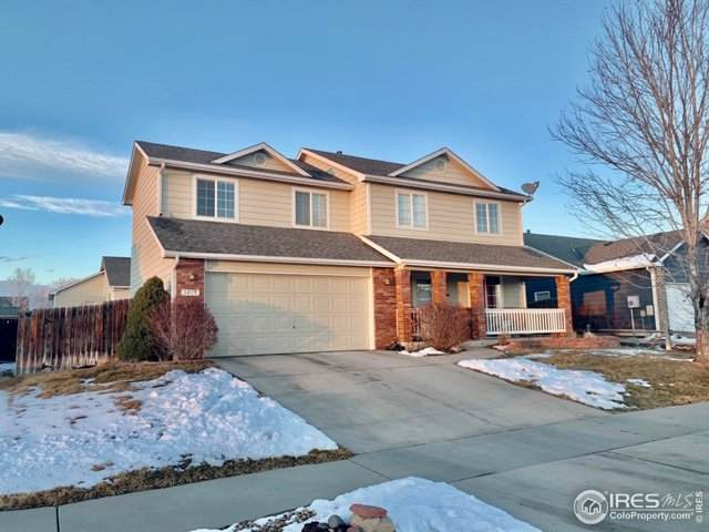 3815 Stampede Dr, Evans, CO 80620 (#903711) :: The Brokerage Group