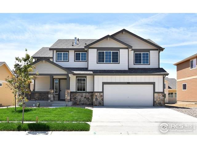1586 Bright Shore Ln, Severance, CO 80550 (#903784) :: The Griffith Home Team