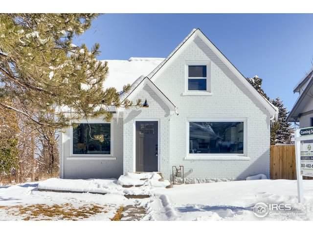922 12th St, Boulder, CO 80302 (MLS #903935) :: 8z Real Estate