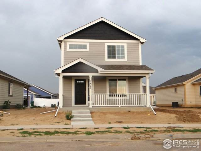 4324 Yellowbells Dr, Evans, CO 80620 (#904282) :: James Crocker Team