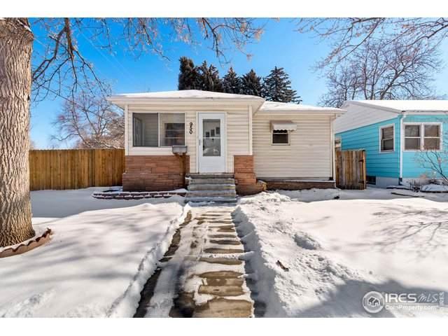 950 Harrison Ave, Loveland, CO 80537 (MLS #904584) :: Kittle Real Estate