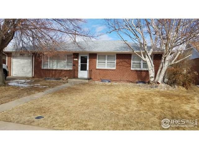 2827 W 12th St Rd, Greeley, CO 80634 (MLS #904912) :: J2 Real Estate Group at Remax Alliance