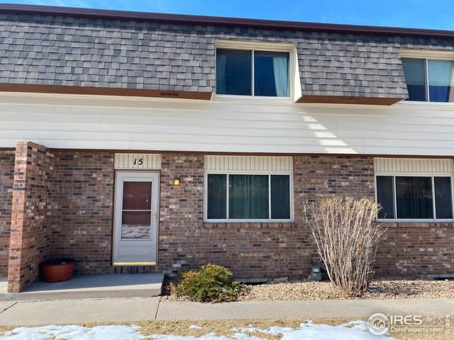 2702 19th St Dr #15, Greeley, CO 80634 (MLS #904987) :: Colorado Home Finder Realty