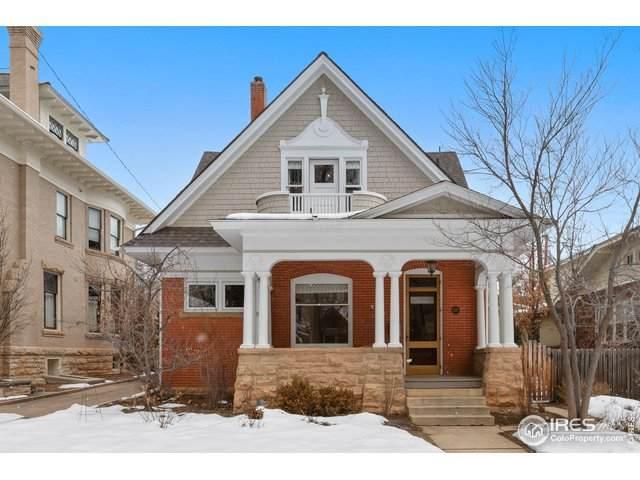 437 Pine St, Boulder, CO 80302 (MLS #905096) :: Downtown Real Estate Partners