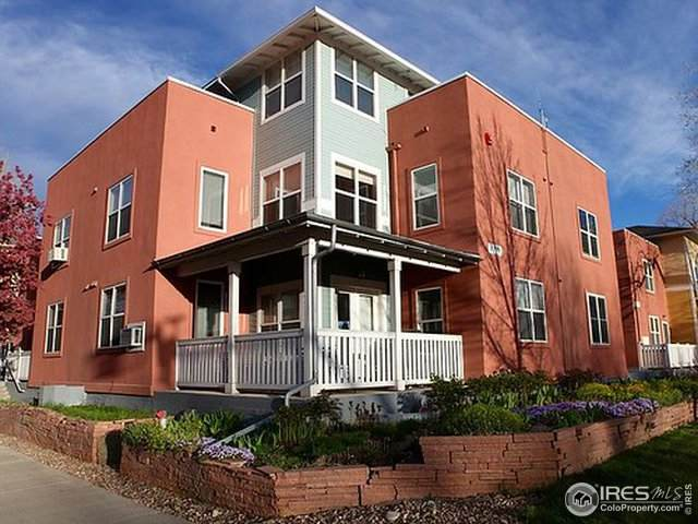 3390 Folsom St #108, Boulder, CO 80304 (MLS #905385) :: Jenn Porter Group