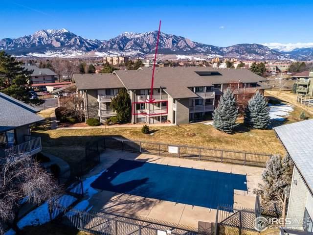 645 Manhattan Pl #208, Boulder, CO 80303 (MLS #905773) :: Jenn Porter Group