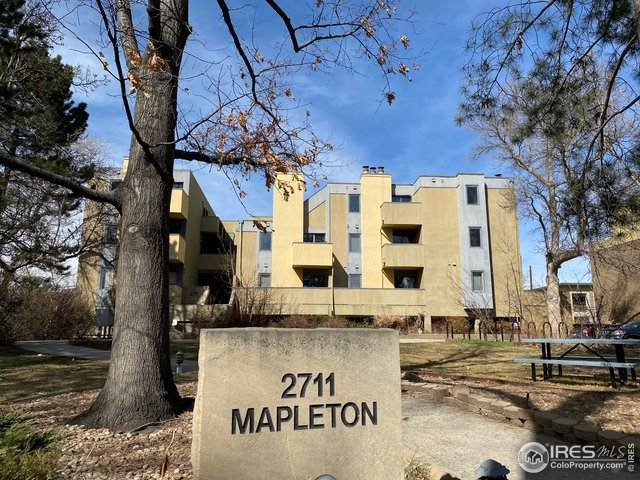 2711 Mapleton Ave #12, Boulder, CO 80304 (MLS #906458) :: Tracy's Team