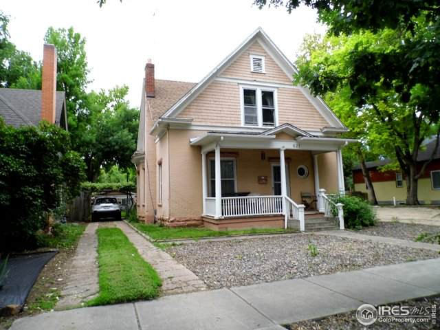 821 Laporte Ave, Fort Collins, CO 80521 (MLS #907236) :: 8z Real Estate