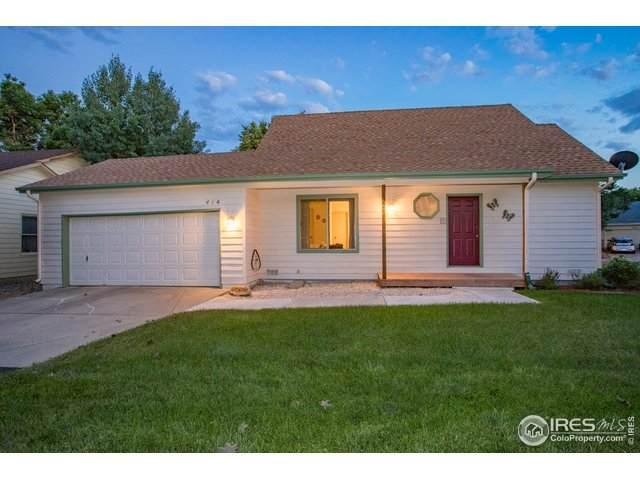 414 Radiant Dr, Loveland, CO 80538 (#907540) :: The Peak Properties Group