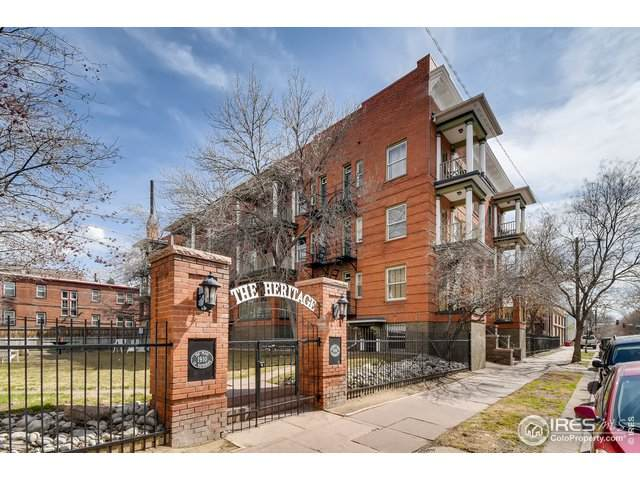1356 Pearl St #109, Denver, CO 80203 (MLS #907602) :: Colorado Home Finder Realty