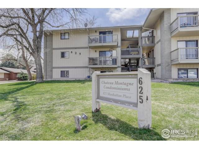 625 Manhattan Pl #104, Boulder, CO 80303 (MLS #907844) :: Jenn Porter Group