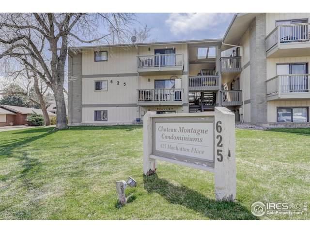 625 Manhattan Pl #104, Boulder, CO 80303 (MLS #907844) :: Colorado Home Finder Realty