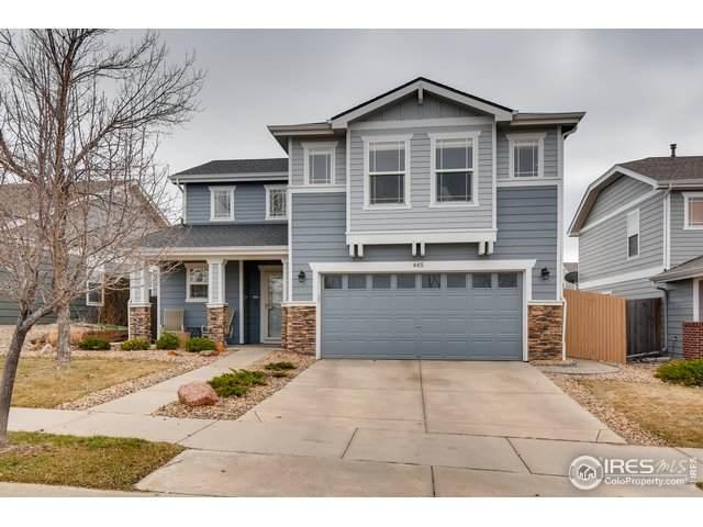 445 Bonanza Dr, Erie, CO 80516 (MLS #907860) :: 8z Real Estate
