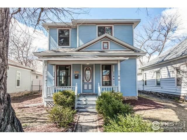 211 N Grant Ave, Fort Collins, CO 80521 (#907897) :: The Brokerage Group