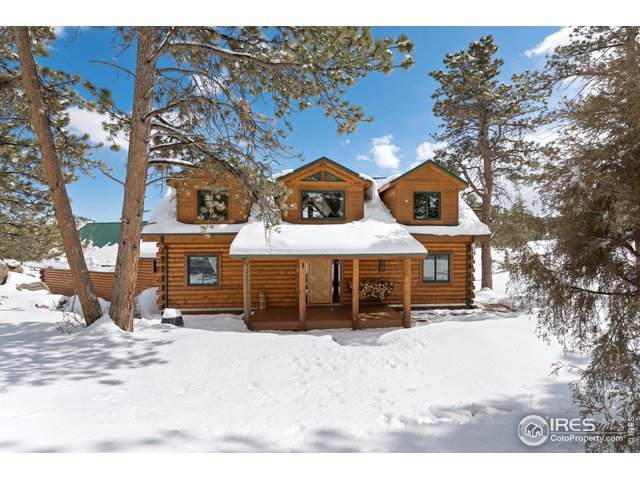 196 Lone Pine Creek Dr, Red Feather Lakes, CO 80545 (MLS #908717) :: Jenn Porter Group