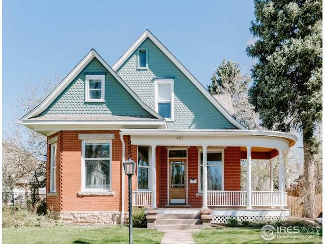 421 Highland Ave, Boulder, CO 80302 (#910368) :: Kimberly Austin Properties