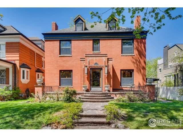 967 N Lafayette St, Denver, CO 80218 (#911442) :: The Peak Properties Group