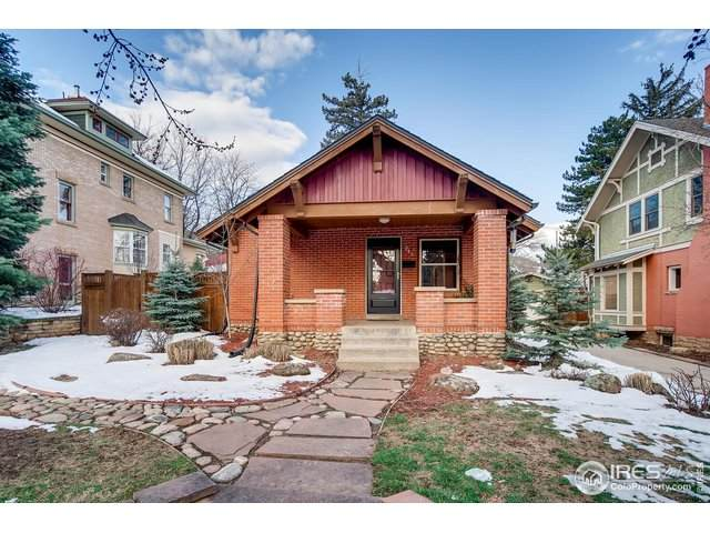 943 10th St, Boulder, CO 80302 (MLS #911568) :: Colorado Home Finder Realty
