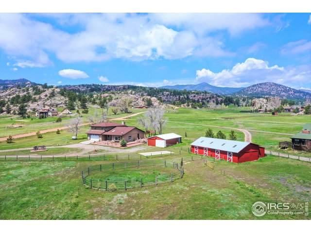 201 Spring Gulch Dr, Lyons, CO 80540 (MLS #911618) :: Jenn Porter Group