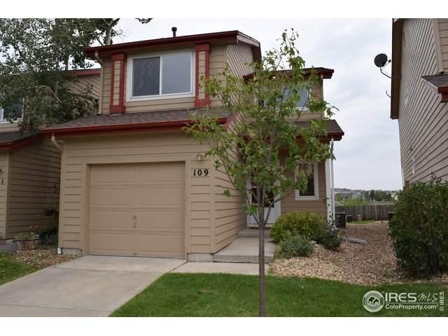 109 Huntley Creek Ct, Erie, CO 80516 (#912227) :: The Peak Properties Group
