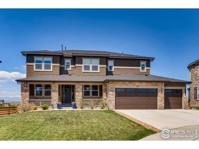 33 Sunshine Cir, Erie, CO 80516 (#912560) :: The Peak Properties Group