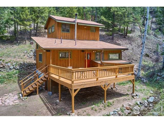 266 Glendale Gulch Rd, Jamestown, CO 80455 (MLS #913040) :: J2 Real Estate Group at Remax Alliance