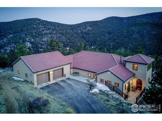 4900 Ridge Rd, Nederland, CO 80466 (MLS #913056) :: Jenn Porter Group