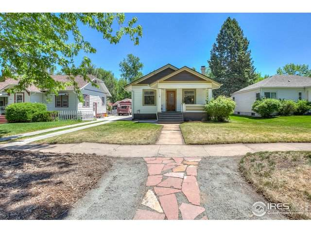1812 14th Ave, Greeley, CO 80631 (#913095) :: The Peak Properties Group
