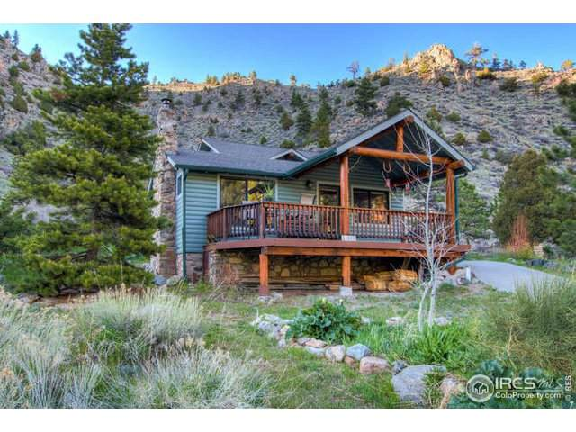 34900 Poudre Canyon Rd, Bellvue, CO 80512 (MLS #913140) :: Find Colorado