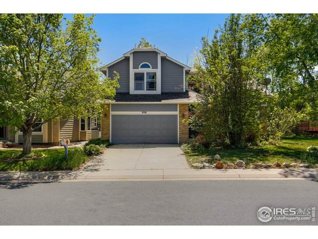 908 W Chestnut Cir, Louisville, CO 80027 (MLS #913206) :: Downtown Real Estate Partners
