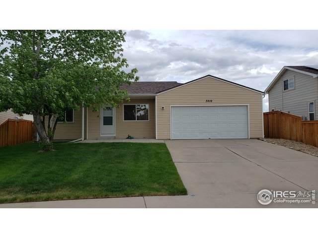 3916 Falcon Ln, Evans, CO 80620 (MLS #913323) :: Colorado Home Finder Realty