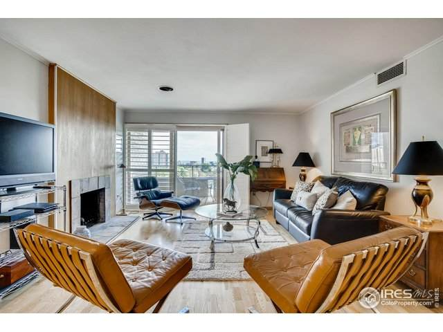 800 Pearl St #911, Denver, CO 80203 (#913605) :: Re/Max Structure