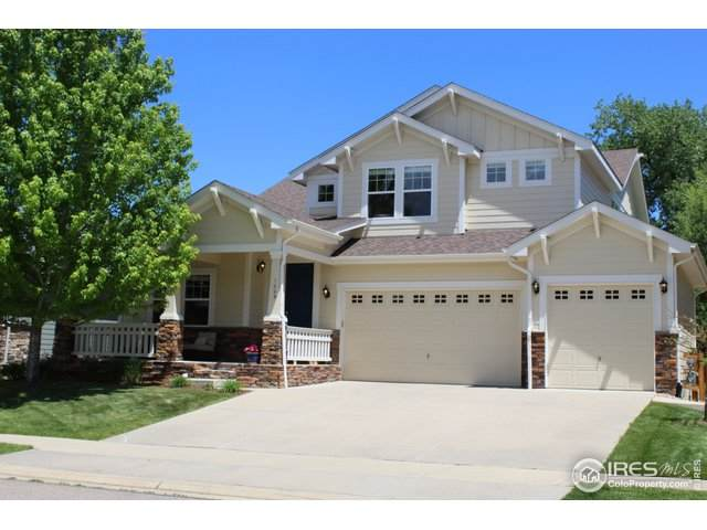 1009 Petras St, Erie, CO 80516 (#913673) :: The Griffith Home Team