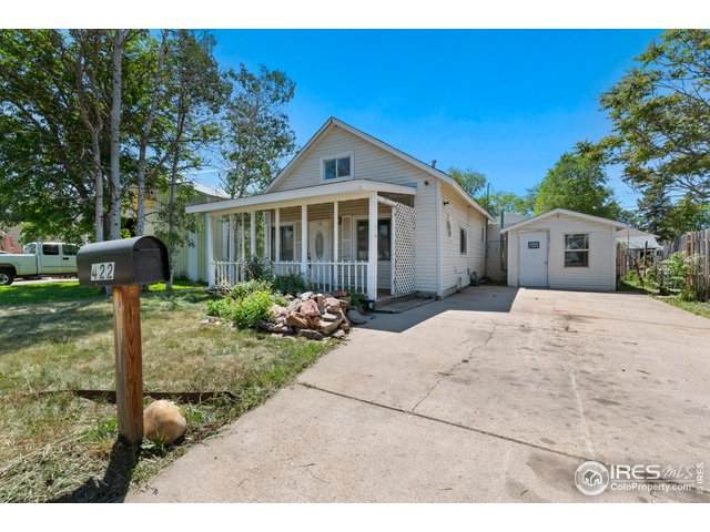 422 8th St, Greeley, CO 80631 (MLS #914000) :: Bliss Realty Group